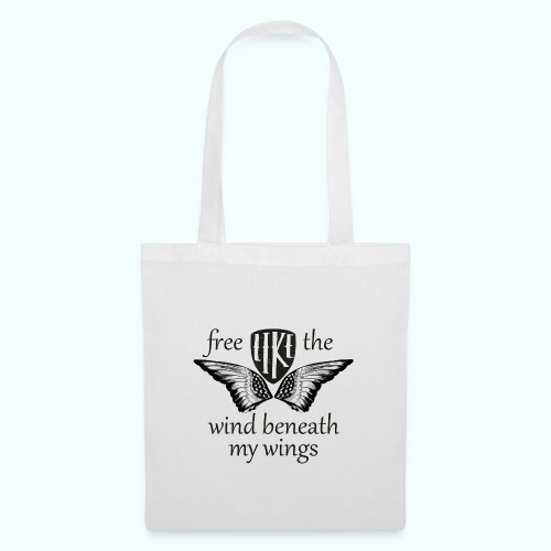Free like the wind beneath my wings - Tote Bag