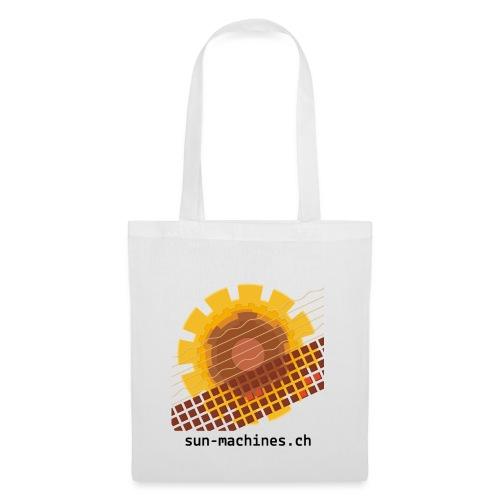 sunmachines logo text transparent png - Stoffbeutel
