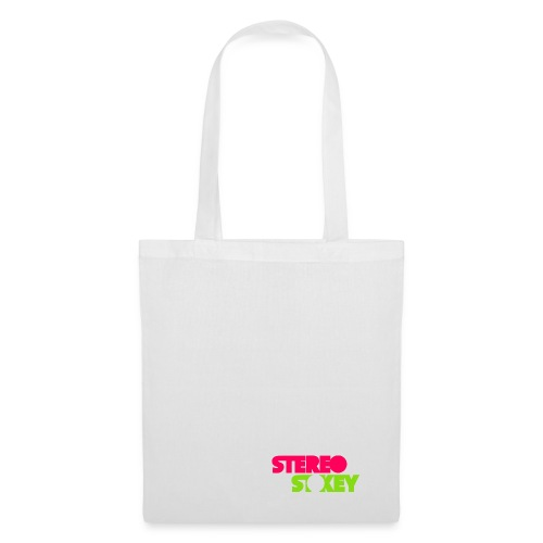 Pink Green Logo vertical px - Tote Bag