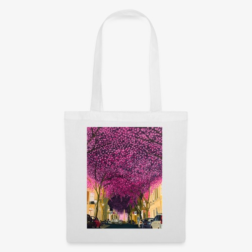 A street at night - Tote Bag