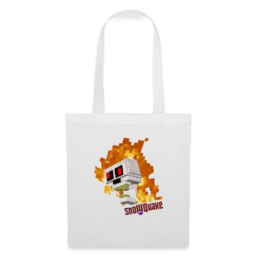 SnoWQuake skull logo - Tote Bag