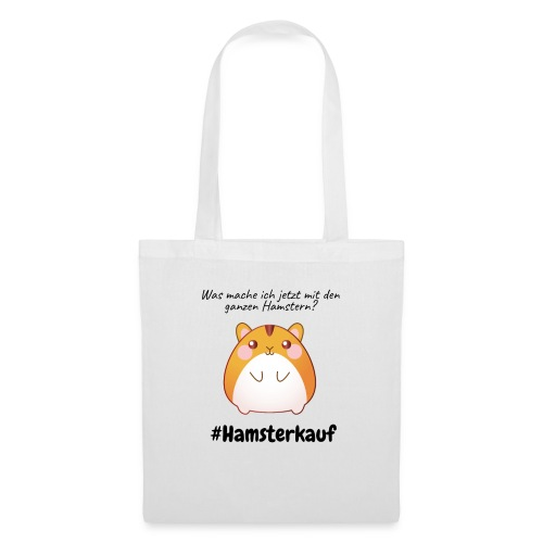 Ganze Hamster - Stoffbeutel