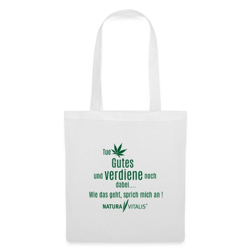 Tue Gutes - Green - Stoffbeutel