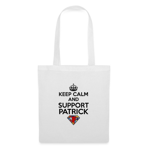 Keep Calm and Support Patrick - Tote Bag