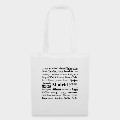 European capitals - Tote Bag