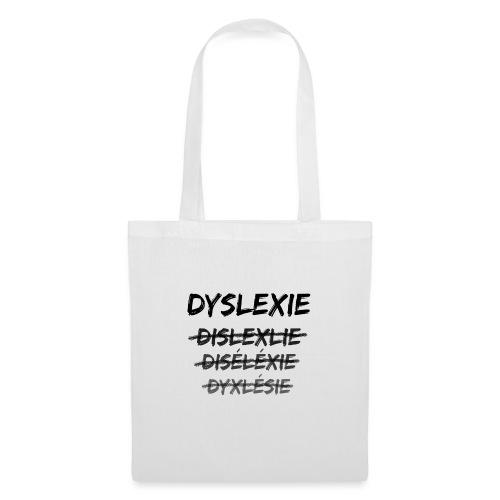Dyslexie - Sac en tissu