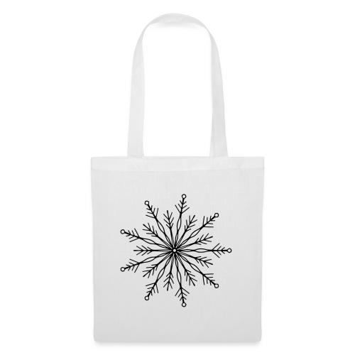 winterkind the mastermind snowflake - Stoffbeutel