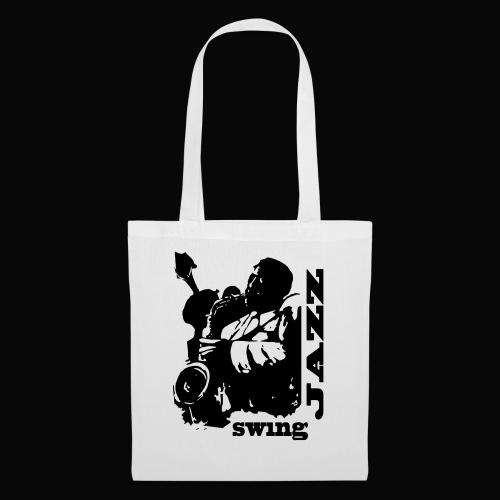 saxofonista - Bolsa de tela