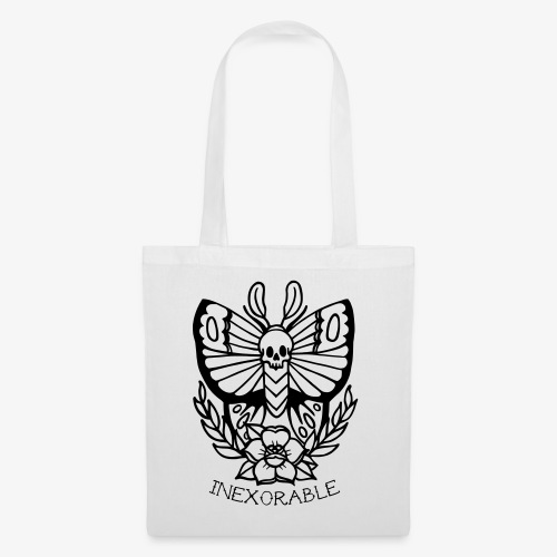 Traditional Tattoo Moth - Tote Bag