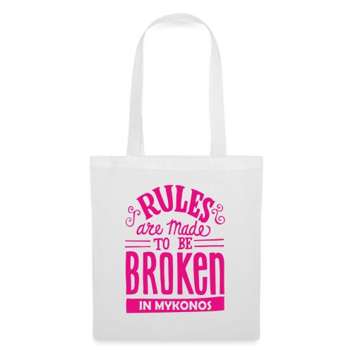 Mykonos Rules - Tote Bag