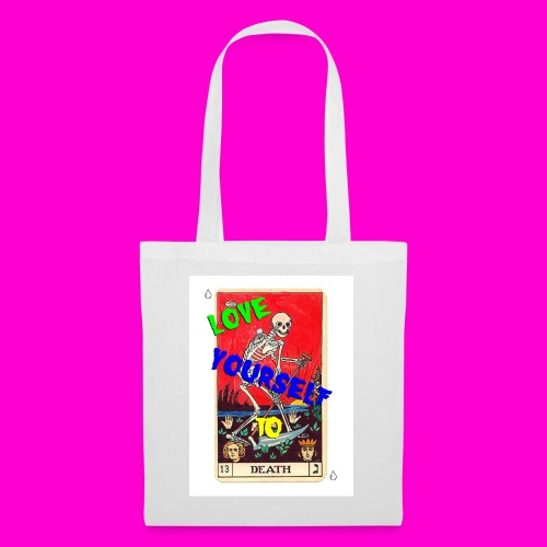 LOVE YOURSELF TO DEATH - Tote Bag