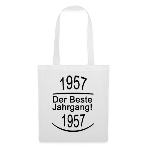 besterjahrgang 1957 - Stoffbeutel