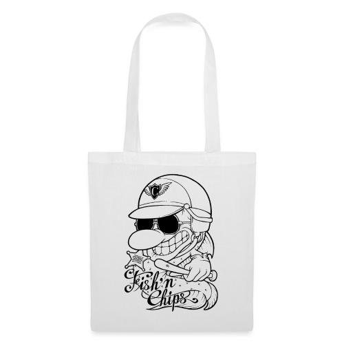 Fish'n Chips - Comics Design - Tote Bag