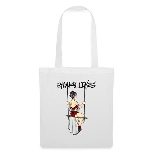 Trapeze print logo - Tote Bag