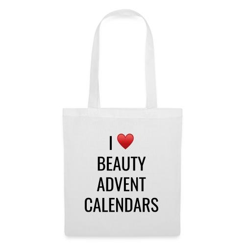 I Love Beauty Advent Calendars - Tote Bag