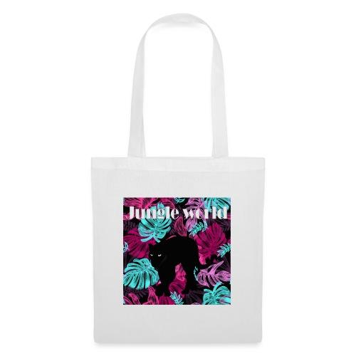 Jungle world panthere c - Sac en tissu
