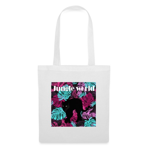 Jungle world panthere c - Tote Bag
