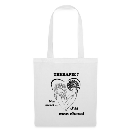cheval thérapie FC - Tote Bag