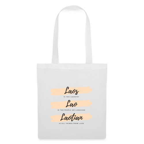Meaning of the word Laos, Lao and Laotian - Tote Bag