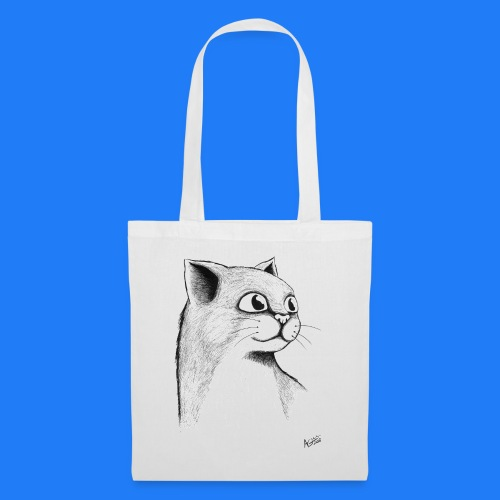 CAT HEAD by AGILL - Tote Bag