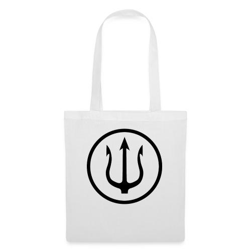 trident noir - Tote Bag