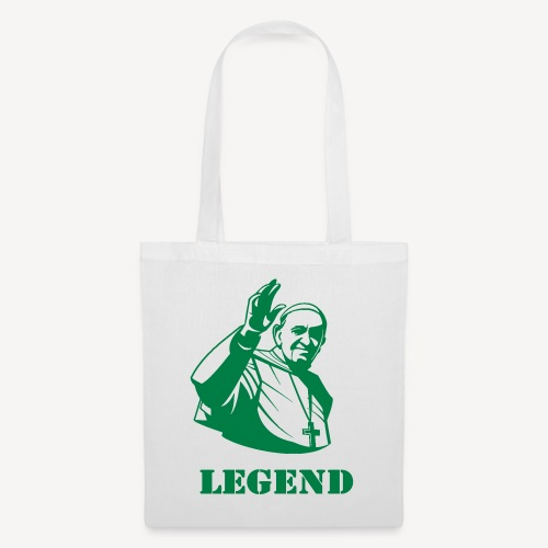 Pope Francis - Legend - Tote Bag