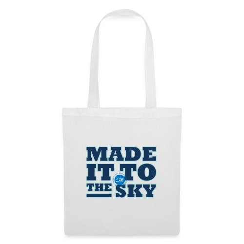 Made it to the sky (Dark blue) - Tote Bag