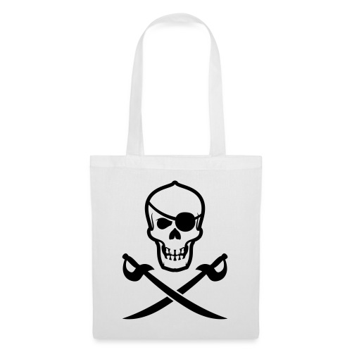 Totenkopf Pirat - Stoffbeutel