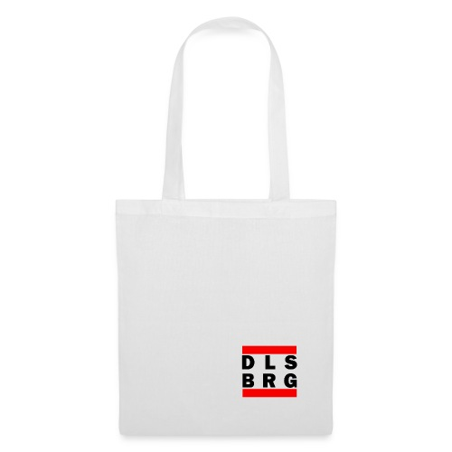DLSBRG transparent schwarz png - Stoffbeutel