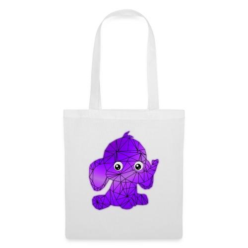 Éléphant géométrique - Tote Bag