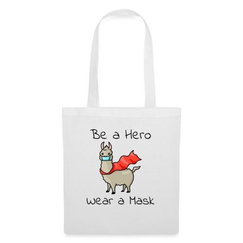 Sei ein Held, trag eine Maske - fight COVID-19 - Stoffbeutel