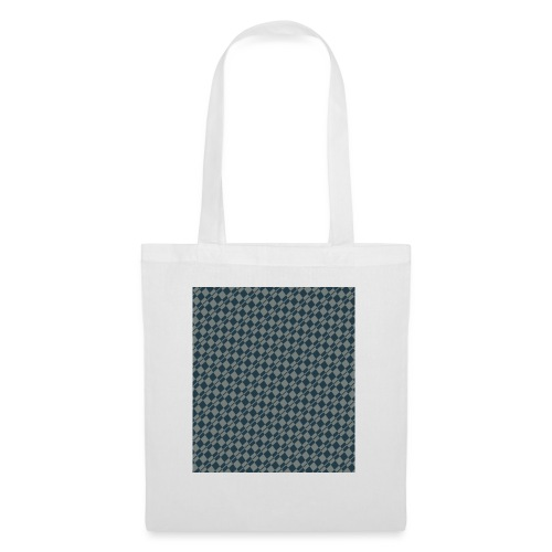 DAMIERS ABSTRAIT BLEUS/VERT - Tote Bag