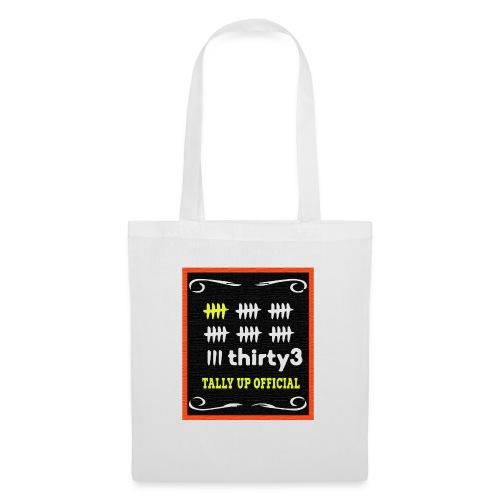 33 Tally up Chalkboard Vivid - Tote Bag