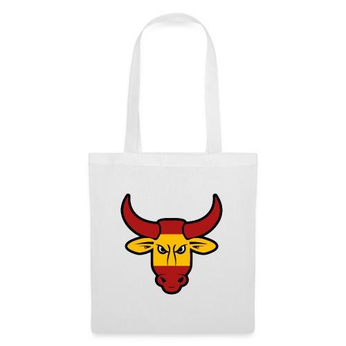 Toro Face - Bolsa de tela