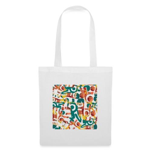 Pattern in graffiti look - Tote Bag