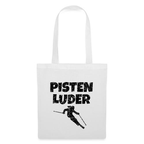 Pistenluder (Vintage/Schwarz) Apres-Ski - Stoffbeutel