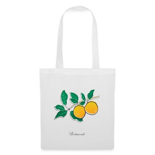 Disegno pianta di arance - Borsa di stoffa