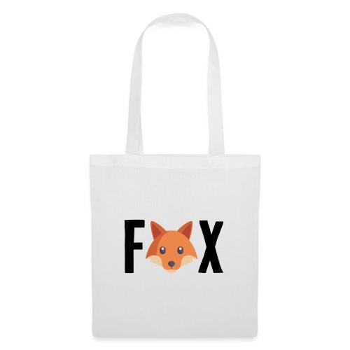 FoxFox | Logo - Borsa di stoffa