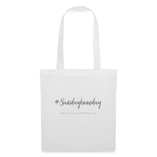 #Sundaybumday - GREY - Stoffbeutel