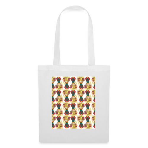 Tunisian Pattern - Tote Bag