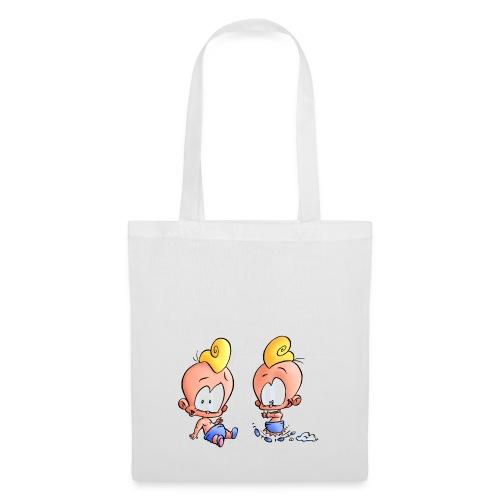 Bébes jumeaux - Tote Bag