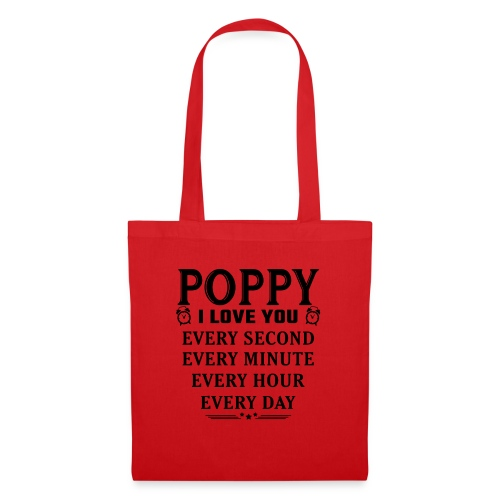 I Love You Poppy - Tote Bag