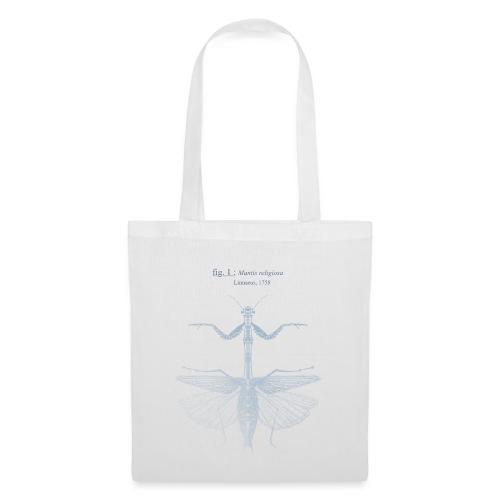 mantis religiosa - bleue - Sac en tissu