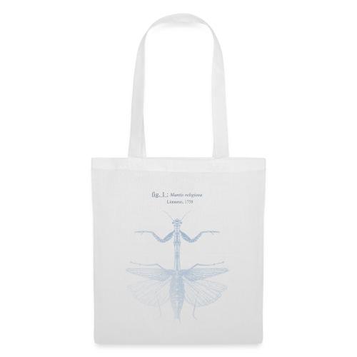 mantis religiosa - bleue - Tote Bag