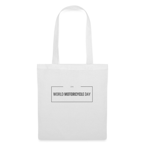 World Motorcycle Day 2016 Official T-Shirt ~ White - Tote Bag