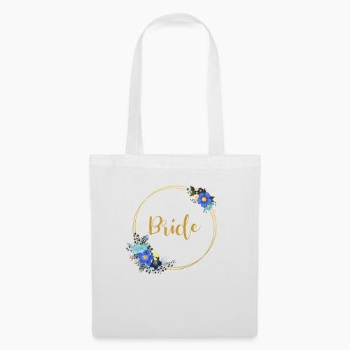 Bride - golden wreath / golden wreath - Tote Bag