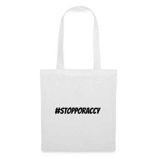 Stop Poraccy - Borsa di stoffa