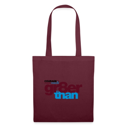 courage-gr8erthan - Tote Bag