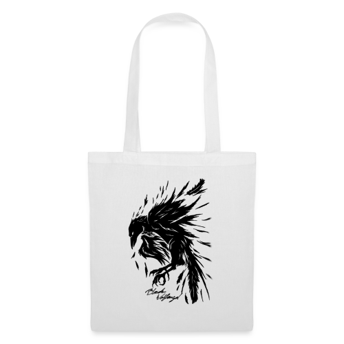 raven_tribal - Stoffbeutel