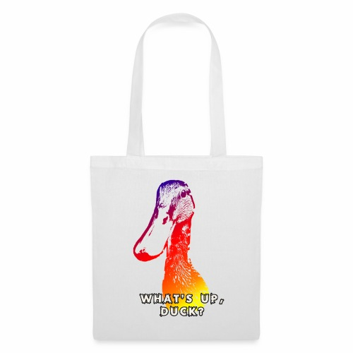 what's up duck - Color - Tote Bag